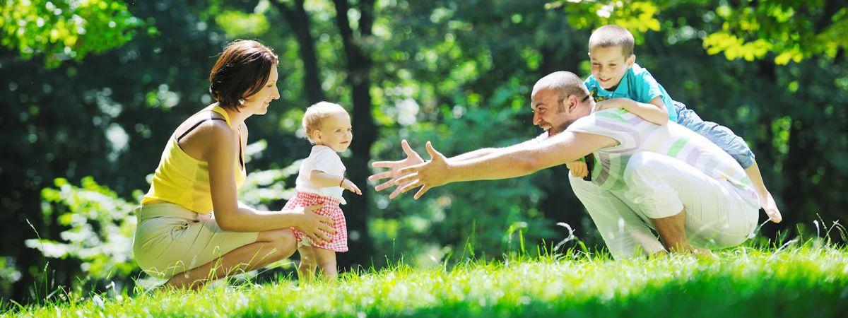 Sua família protegida